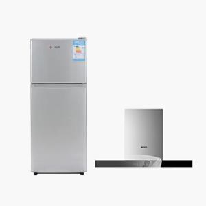 (单/双门冰箱+油烟机)不拆机清洗